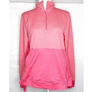 Adidas   Limitless Half-Zip Pullover Coral